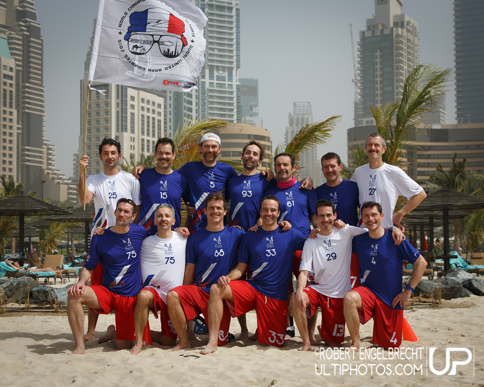 Team picture of France Grand Masters