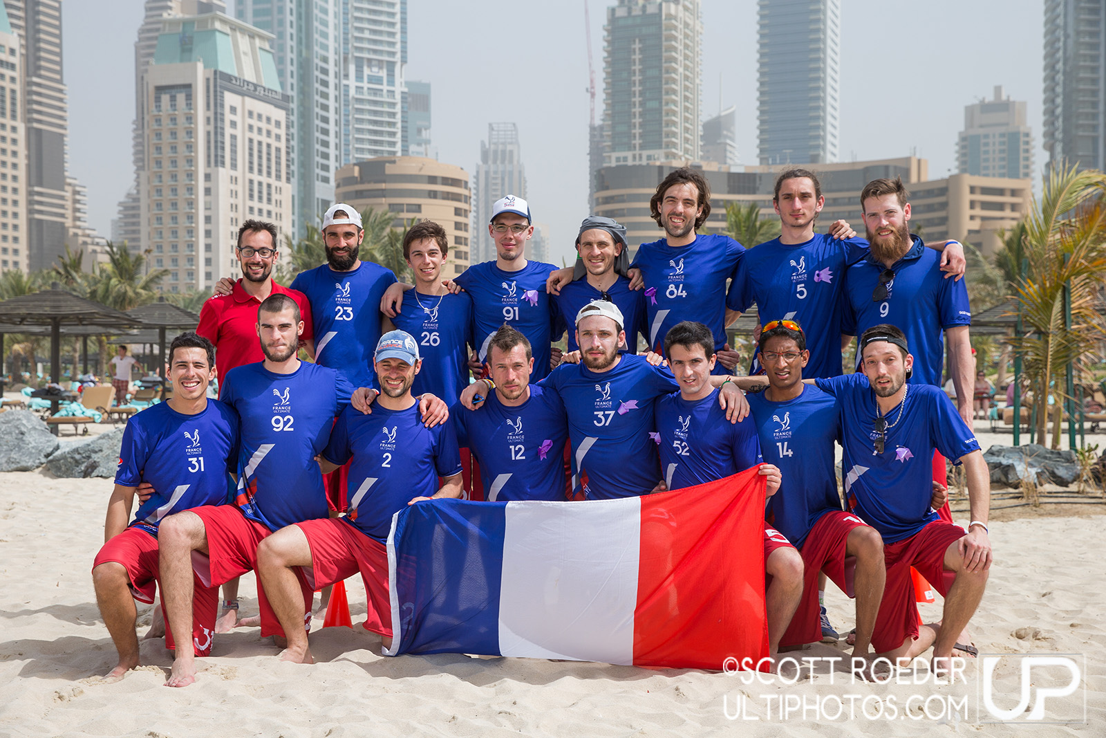 Team picture of France Open